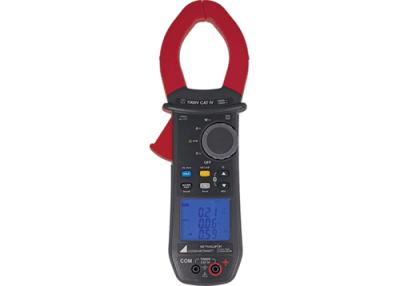GOSSEN METRAWATT Strømtænger for måling af AC & DC strøm & spænding samt effekt, Cos phi, temperatur, frekvens, THD, fasefølge mv.