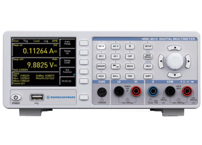 Rohde & Schwarz HMC8012 5 3/4 ciffer (480,000 count) digitalt multimeter med datalogning