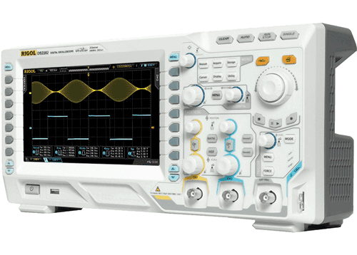 Digital Oscilloskopper fra Rigol