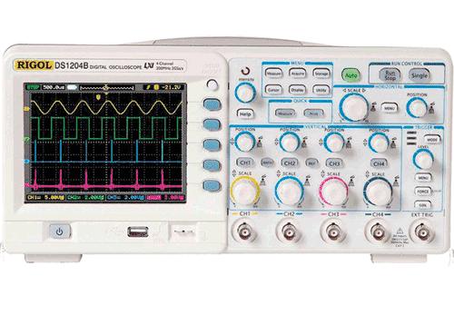 Digital Oscilloskoper fra Rigol
