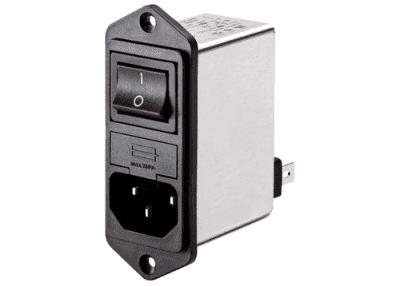 Schaffner IEC Inlet netfilter til kabinet montering