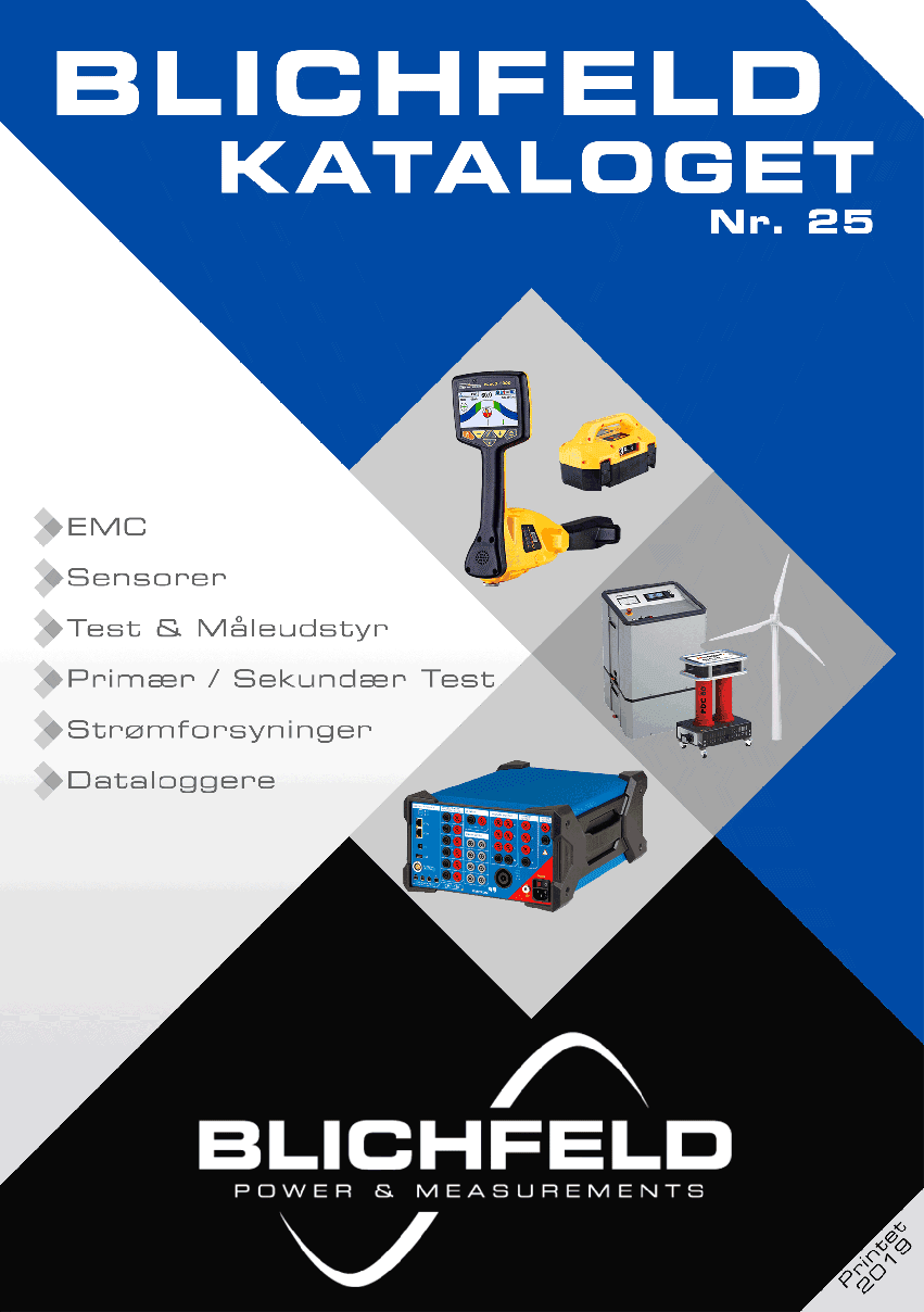 Katalog Blichfeld Power & Measurements